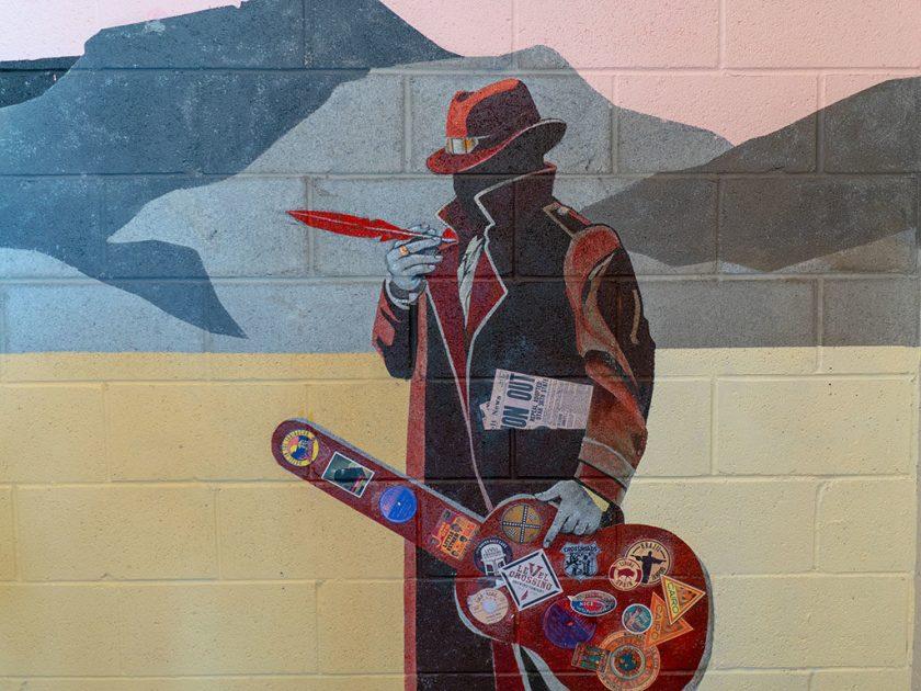 Level Crossing Brewing Company - mural art