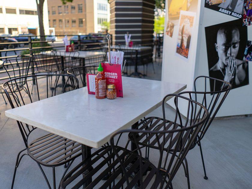 Ginger Street patio
