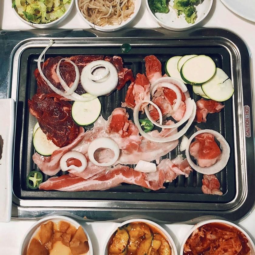 SEON Korean BBQ - Korean BBQ grilling (foodieinslc)