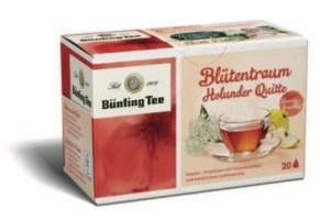 Bünting Tee Blütentraum – Holunder Quitte