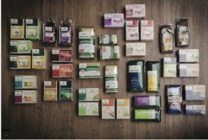 75 verschiedene Teesorten werden bei Bünting in Nortmoor verpackt