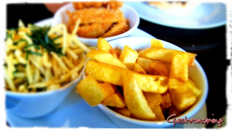Patatas fritas perfe