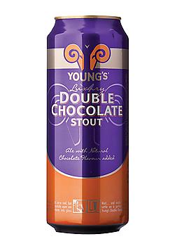 Youngs Double Chocolate en lata