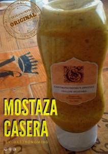 Mostaza casera