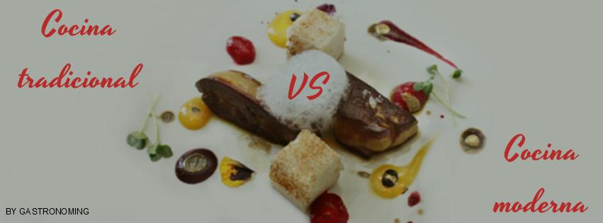 cocina tradicional vs cocina moderna