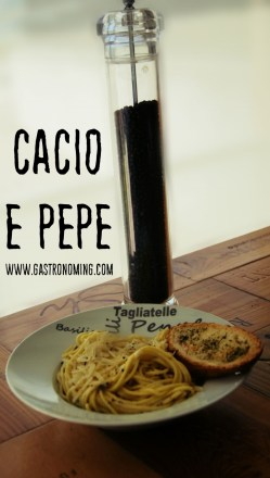 CACIO E PEPE