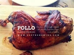 pollo asado con salsa de soja