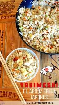 Yakimeshi, el arroz frito japonés