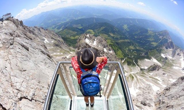 Sommerspaß in der Steiermark Dachstein Treppe