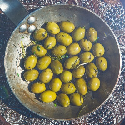 Vorspeisen Rezept für Oliven Heiße Oliven Florence Stoiber