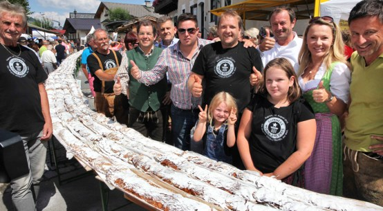 Kaprun Apfelstrudel-Weltrekord