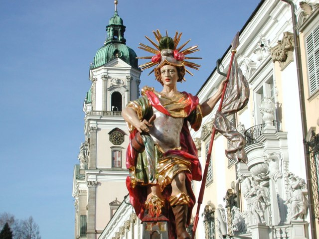 Tag des Denkmals in Klösterreich 2015 Denkmal Stift St. Florian Westfassade