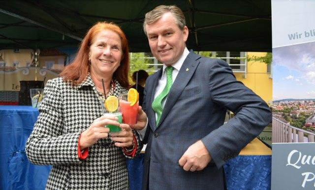 Tourismusschulen Krems feiern Jubiläum Hrubesch Mörwald