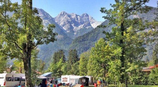 Camping neue Nächtigungsrekorde in Österreich