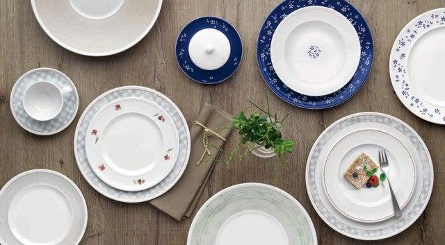 Vielfalt für den gedeckten Tisch Bauscher Come4table Dekorcollage