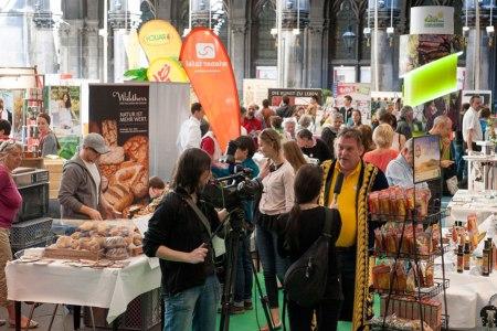 Fairer Genussmarkt im Wiener Rathaus