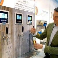 """""""Wall tap"""" von Redl: Biervergnügen – selbst gezapft"""