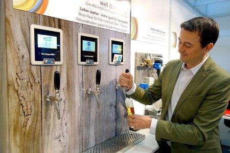 Bier selber zapfen Anlage Hermann wall tap