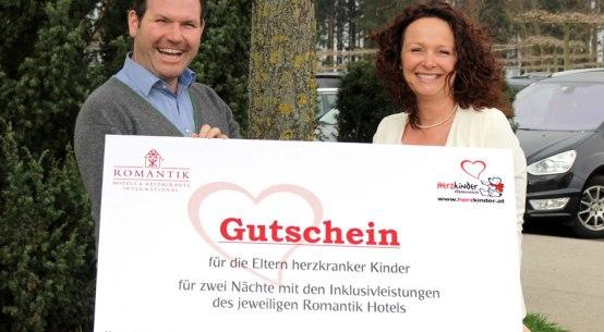Romantik Hotels unterstützen Herzkinder