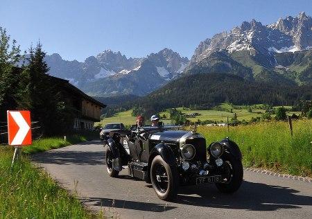 Oldtimer-Fans Kitzbüheler Alpenrallye