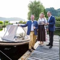 """Mit E-Boot """"Franzl"""" über den Millstätter See"""