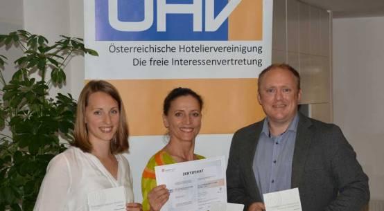 ISO-Zertifikat für ÖHV-Weiterbildung