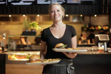 LeBurger erstes m-eating-table-Restaurant Österreichs