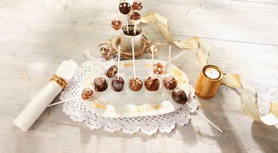 Desserts zu Weihnachten für die Gastronomie