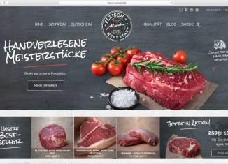 Bestes Fleisch von Rind und Schwein für Gastronomie