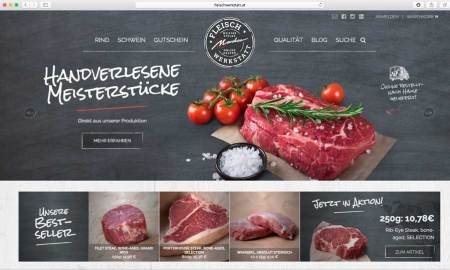 Fleischwerkstatt Bestes Fleisch von Rind und Schwein für Gastronomie
