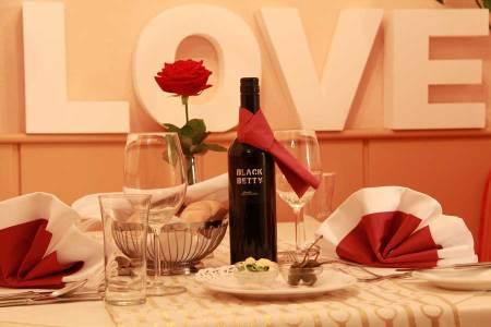Valentinstag Candlelight-Dinner Höldrichsmühle