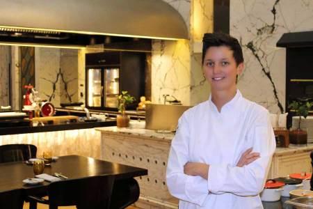 Küchenchefin mit 32 Nadine Stangl