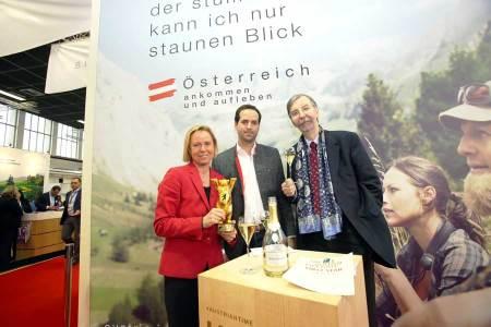 Erfolgreicher Auftritt für Österreich Werbung ITB