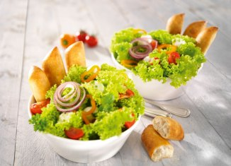 Süßes und pikantes Gebäck Mini-Format Gastronomie
