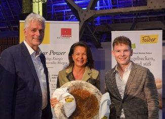 Roland Kuras (power solution), Doris Felber (felber) und Wolfgang Deutschmann (Lion Rocket)