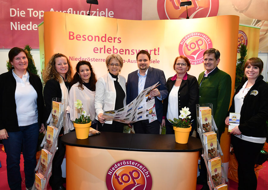 Niederösterreich: Besucherrekord für Top-Ausflugziele