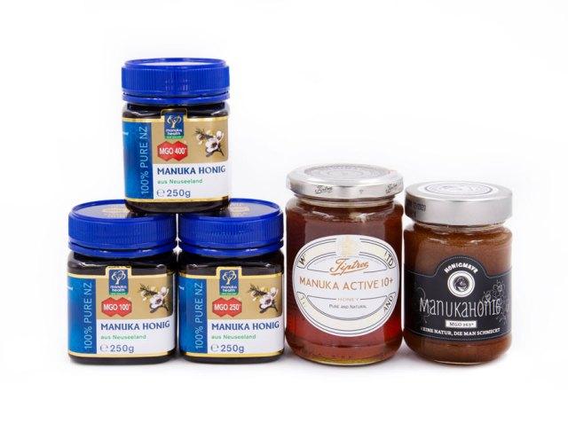 Manuka Honig : Bei Julius Meinl am Graben ist eine erlesene Auswahl an Manuka-Honigen zu finden