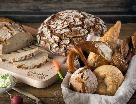 Brot zum Frühstück: Brot und Gebäck von Haubis in seiner ganzen Vielfalt bereichert jedes Frühstücksbuffet.