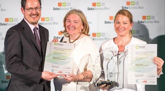 Auszeichnung für Luftburg als Bio-Betrieb