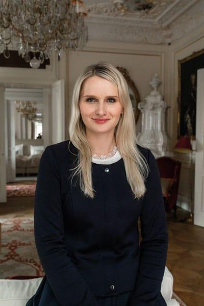 Doris Schwarz ist stellvertretende Hoteldirektorin im Hotel Sacher Wien