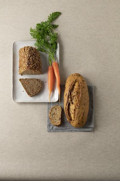 Die fertigen Produkte schmecken durch das Vakuumieren der Karotten besonders frisch.
