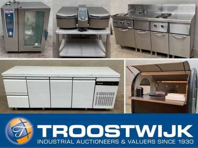 Online-Auktion Professionelle Gastronomie- und Catering-Ausstattung wird versteigert.