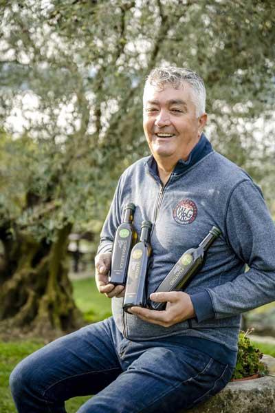 beste Olivenölregion Einer der drei besten Olivenöl-Produzenten Istriens: Klaudio Ipša aus Livade