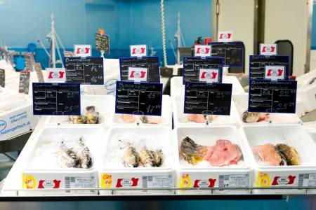 AMA Frischfisch Metro Bei Metro kann man ab April auch Fisch mit dem AMA-Gütesiegel kaufen.