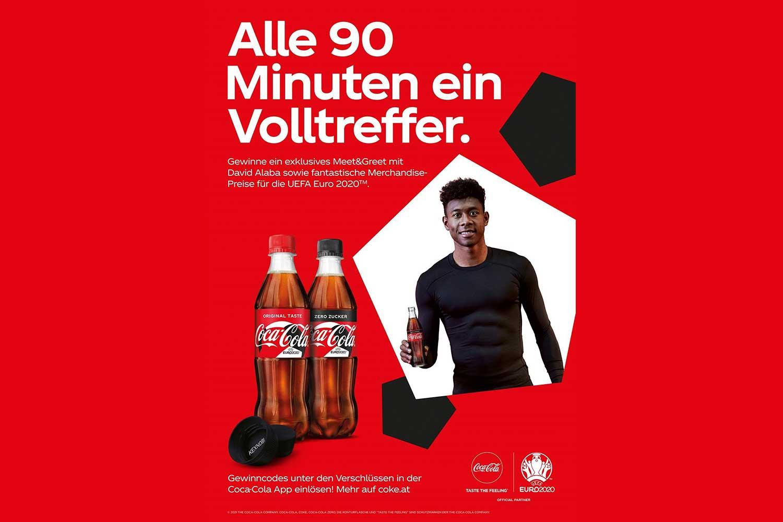 Coca-Cola will Vorfreude auf UEFA EURO 2020 wecken