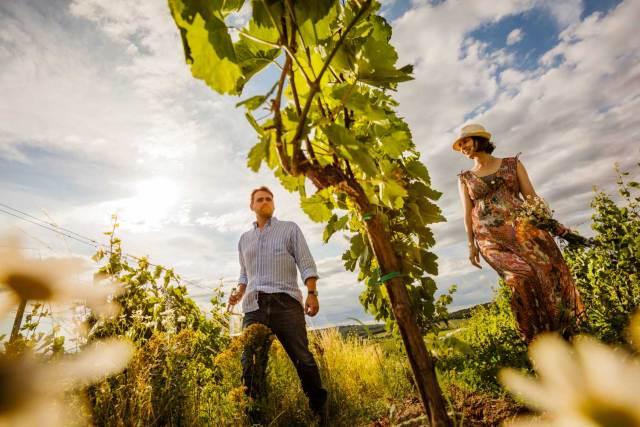 Weingut Markus Altenburger Markus und Bernadette Altenburger.