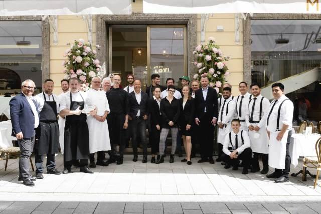 Die Crew vom neuen Meissl&Schaden in Salzburg