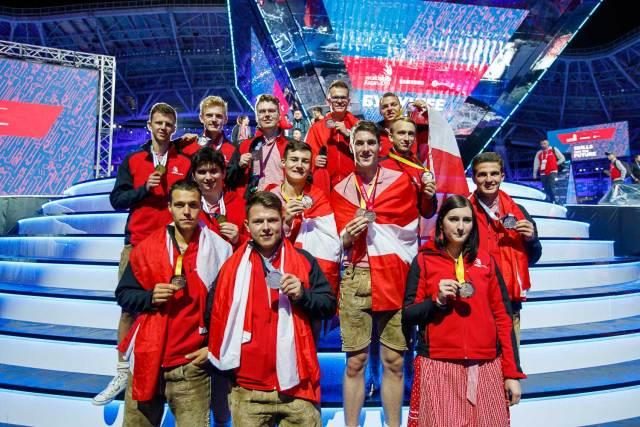 Auch bei den WorldSkills vor zwei Jahren in Kazan haben Österreichs Teilnehmer ausgezeichnet abgeschnitten.
