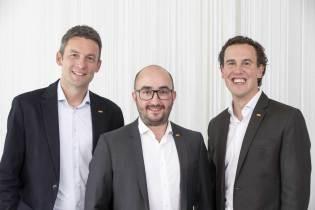 Peter Krug, Franz Sinnesberger und Alexander Kiennast (v. l.) sind stolz auf die Eigenmarken.