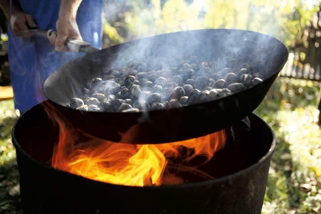 Südtirol, Steiermark oder Slowenien: Ohne Maroni, oder den Kerschen, wie sie auch heißen, geht kulinarisch im Herbst gar nichts.
